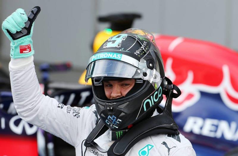 «Формула-1». Гран-при Японии. Победитель квалификации Нико Росберг