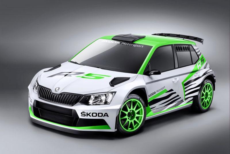 Skoda Fabia R 5 Concept