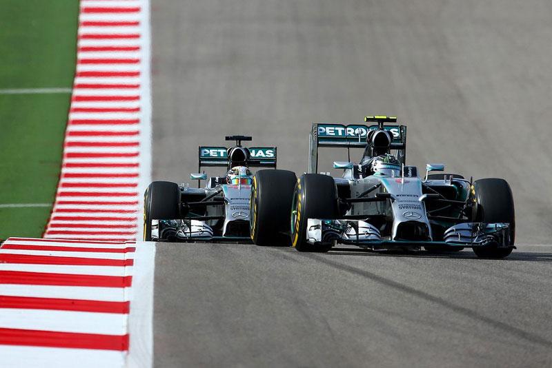 Mercedes, Гран-при США 2014