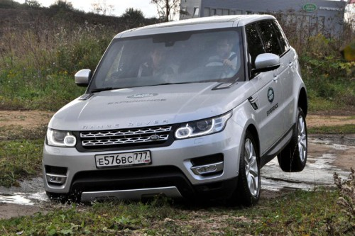 Полигон Land Rover Experience