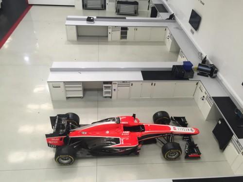 Фабрика Marussia F1 в Банбери, Оксфордшир, Англия