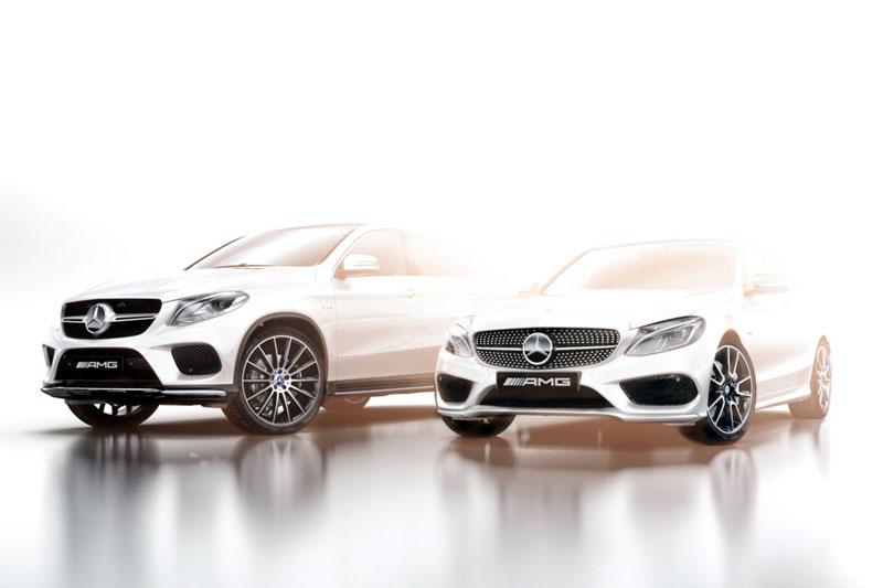 Семейство Mercedes AMG Sport (предварительное изображение)