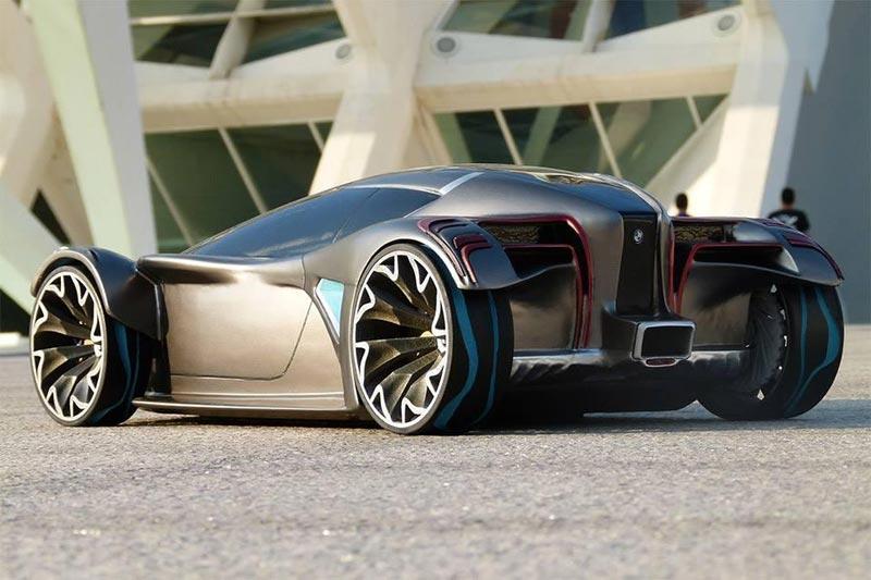 BMW i9 (предварительное изображение)