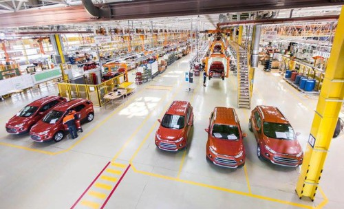 Завод Ford Sollers в Набережных Челнах