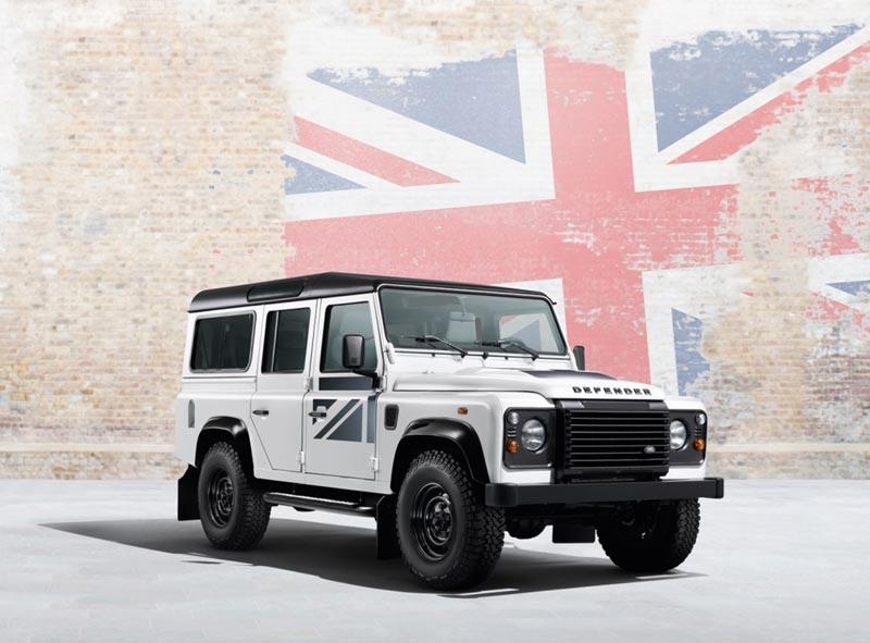 Land Rover Defender Union Flag