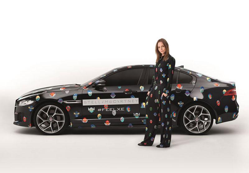 Стелла Маккартни и Jaguar XE, проект Superhero