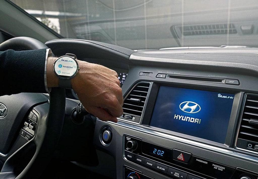 Система телеметрии Blue Link (Hyundai)