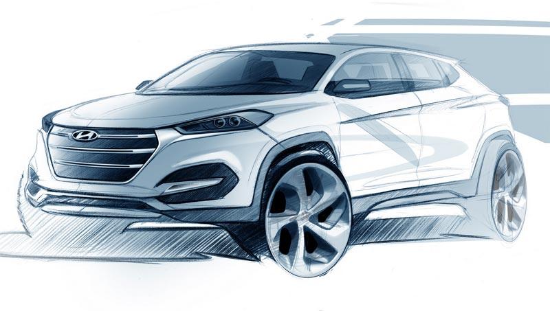 2016 Hyundai Tucson (предварительное изображение)