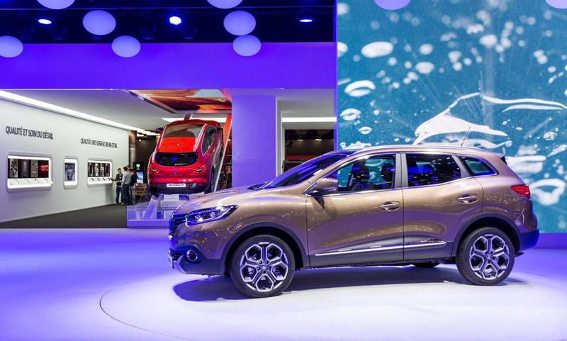 2015 Renault Kadjar (Женевский автосалон)