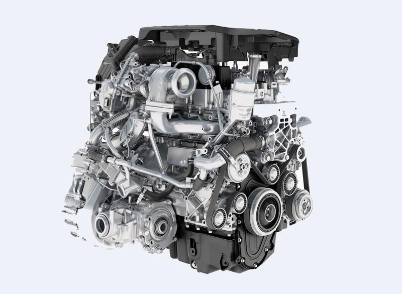 Дизельный двигатель TD4 Ingenium, Jaguar Land Rover