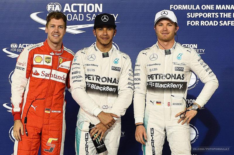 """Формула-1"", Гран-при Бахрейна, квалификация"