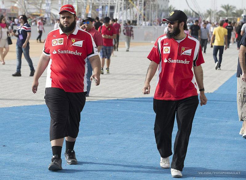 """Болельщики """"Формулы-1"""" в Бахрейне"""