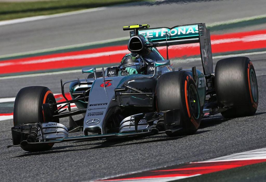 Нико Росберг, Mercedes AMG Petronas 2015