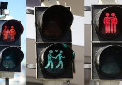 Гомосексуальные светофоры в Вене