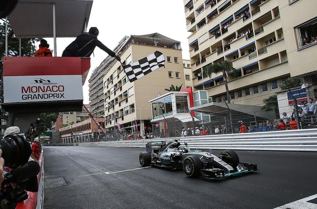 Формула-1, Гран-при Монако 2015, Нико Росберг © vk.com/fotoformula1