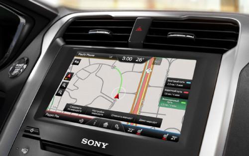 Мультимедийная система Ford SYNC 2 с навигатором