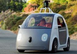 Самоуправляемый китайский автомобиль Baidu