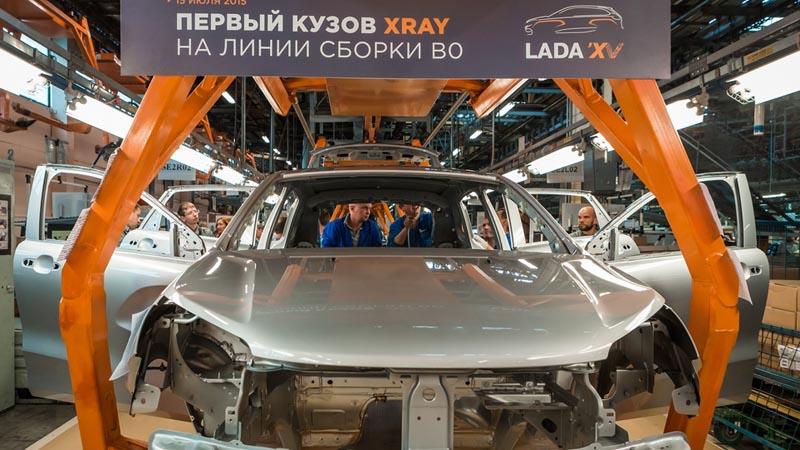 АВТОВАЗ, линия сборки Lada Xray