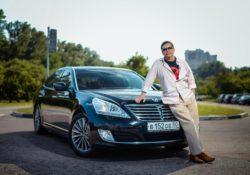 Егор Кончаловский, тест-драйв Hyundai Equus