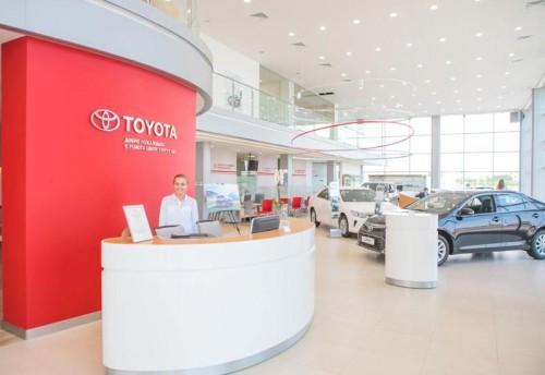 Автоцентр «Тойота Центр Сургут Юг», дилер Toyota, Сургут