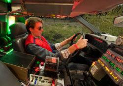 Майкл Джей Фокс в DeLorean DMC-12, Назад в будущее