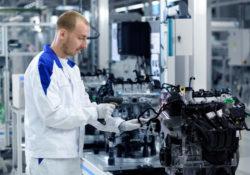 Завод по выпуску двигателей Volkswagen
