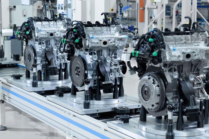 Завод двигателей Volkswagen в Калуге