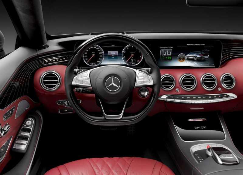 2016 Mercedes-Bebz S-class Cabrio