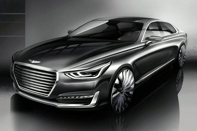 2016 Genesis G90