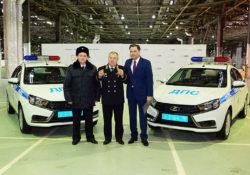 Патрульные Lada Vesta для ГИБДД Ижевска