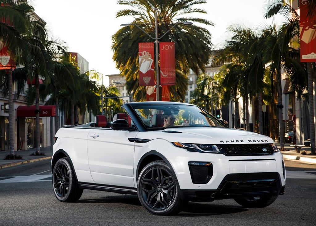 2017 Range Rover Evoque Concertible