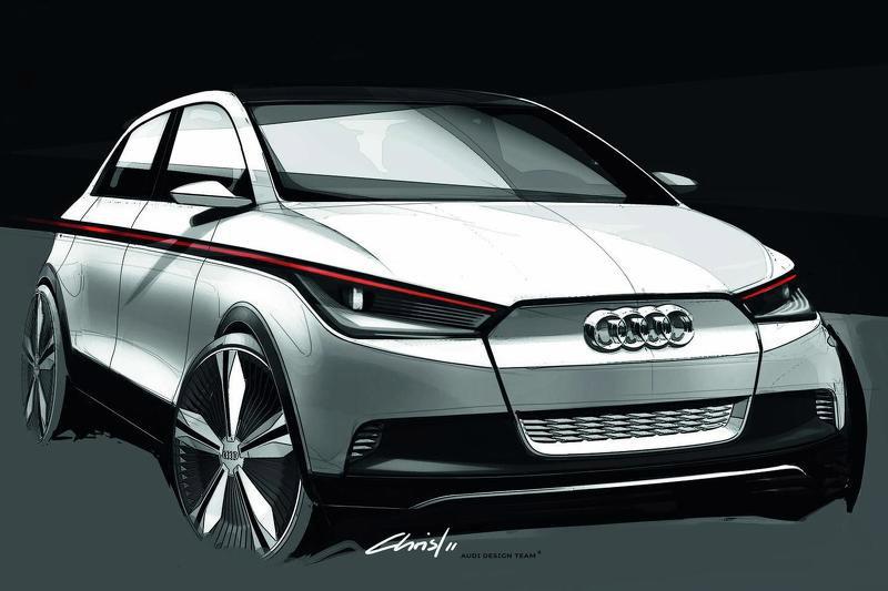 Audi A2 EV Concept (предварительное изображение)