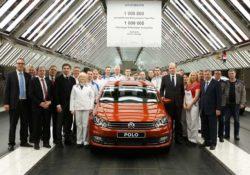 Миллионный Volkswagen на заводе в Калуге