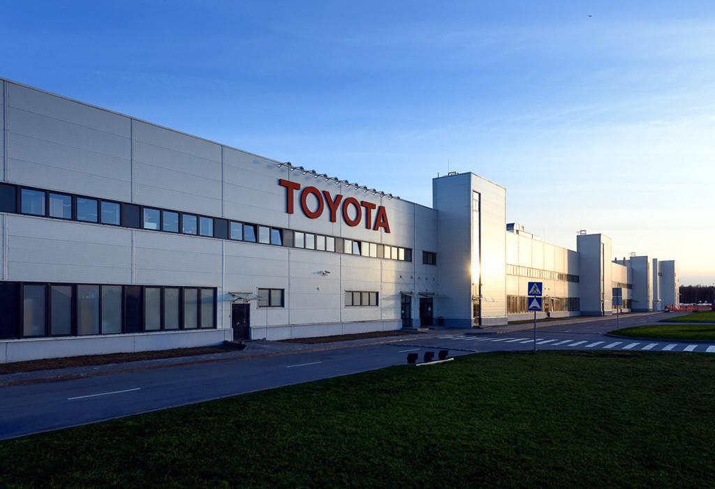 Завод Toyota, Санкт-Петербург