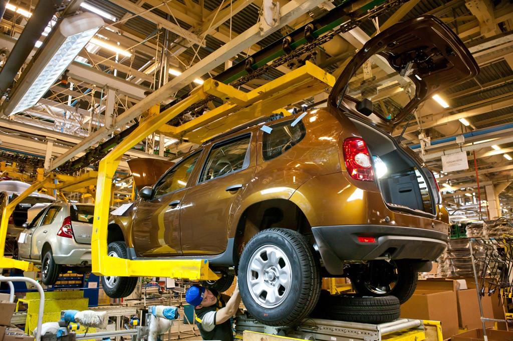 Производство Renault в России