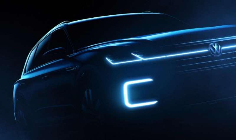 Новый большой SUV от Volkswagen (предварительное изображение)