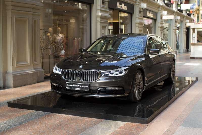 Выставка BMW в ГУМе, Москва