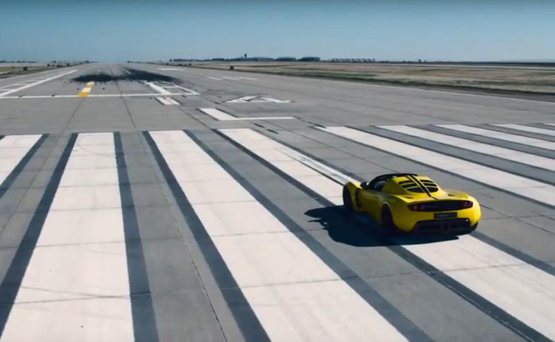 Hennessey Venom GT Spyder, рекорд скорости