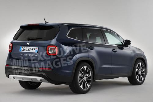 Dacia Grand Duster (предварительное изображение)