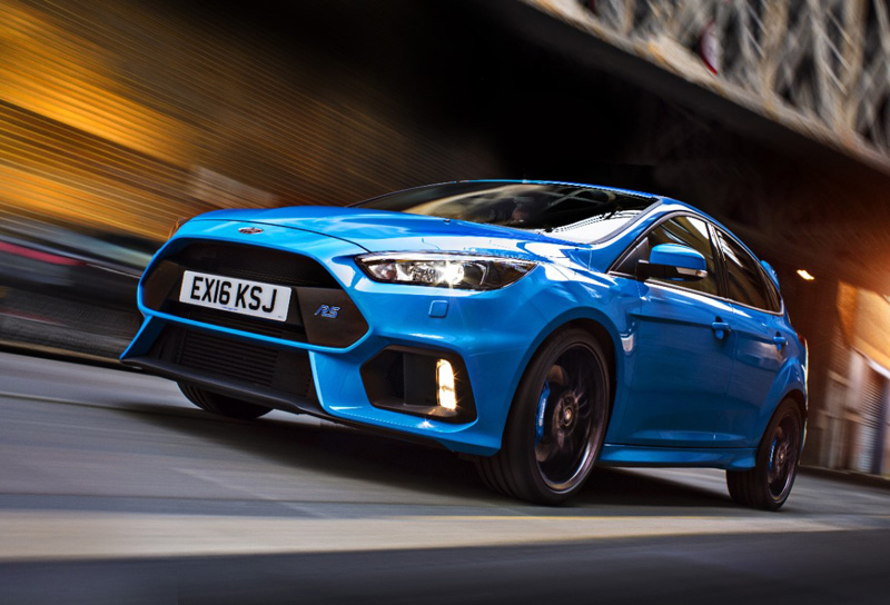 Ford Focus RS от Ford Performance и Mountine