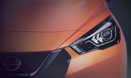 2017 Nissan Micra (предварительное изображение)