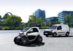 Renault Twizy и Renault Kangoo Z.E