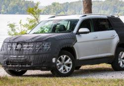 Volkswagen Atlas (предварительное фото)