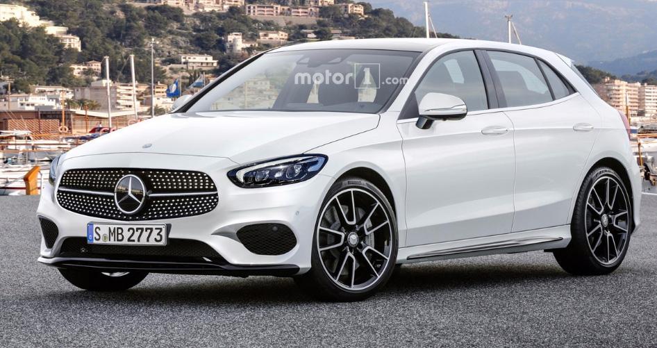 2018 Mercedes-Benz A-class (предварительное изображение)