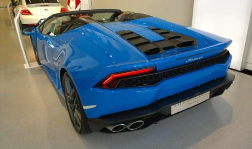 Lamborghini Huracan Spyder 2016, VW forum DRIVE, Берлин
