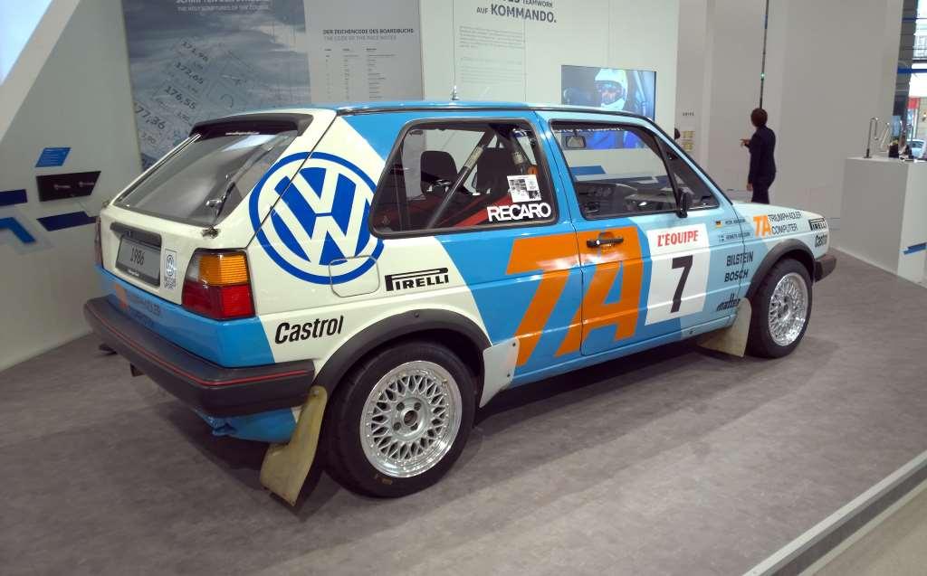 Volkswagen Golf 2 GTI «Triumph Adler», Volkswagen Forum DRIVE, Берлин