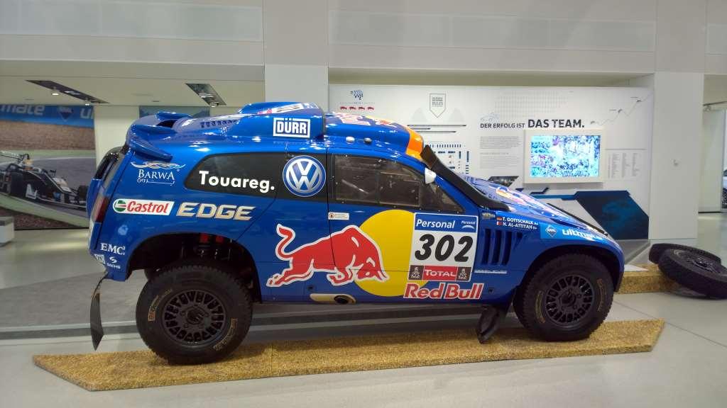 Volkswagen Touareg Dakar 2011, Volkswagen Forum DRIVE, Берлин