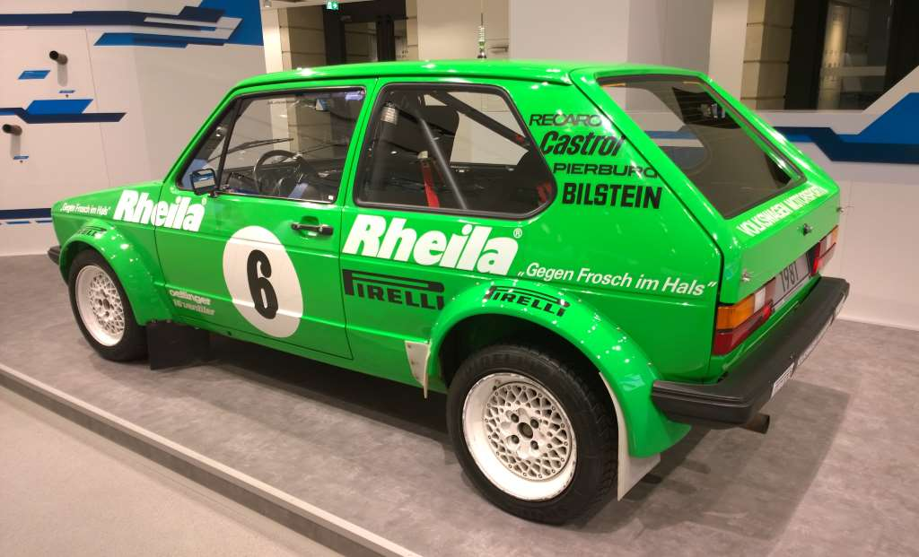 Volkswagen Rheila Golf 1 GTI 1981, Volkswagen Forum DRIVE, Берлин