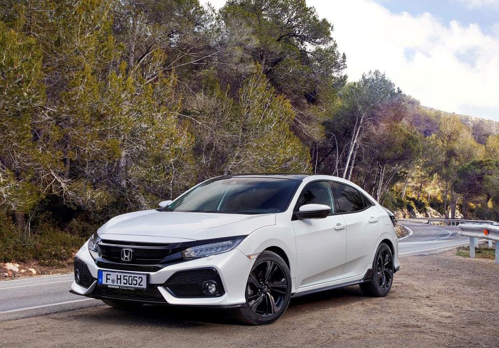 Семейство Хонда Civic обновленного поколения не предвидено вкузове «универсал»
