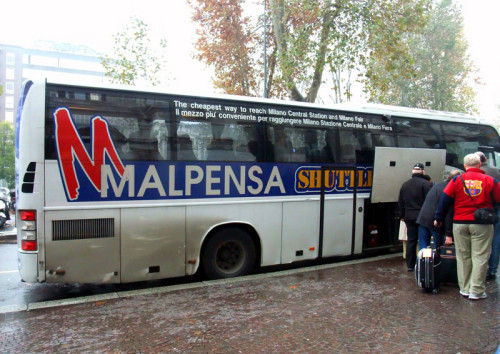 Автобус Malpensa Shuttle